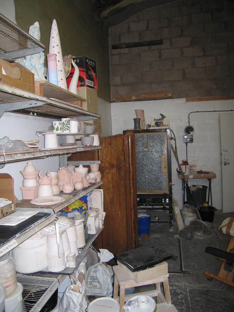 Meadow Mill Studio, Dundee, 2005 Pottery Studio, Meadow Mill Studios, Dundee