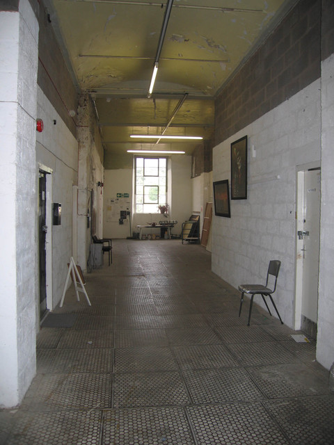 Meadow Mill Studio, Dundee, 2005 Public corridor, Meadow Mill Studios, Dundee