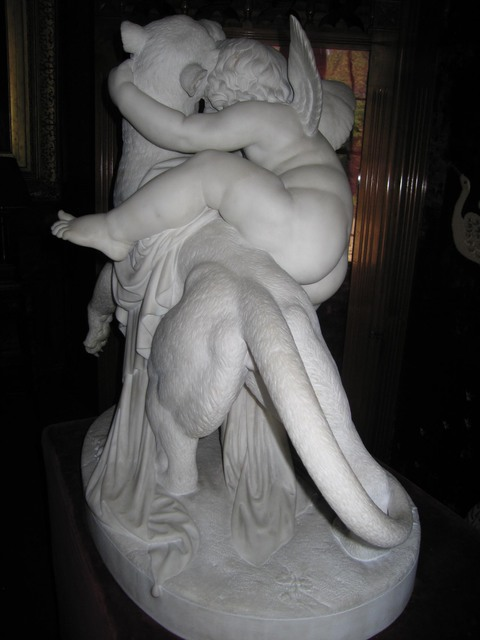 Hospitalfield, Arbroath, Scotland Alabaster sculpture
