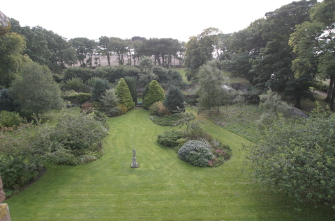 Hospitalfield, Arbroath, Scotland View from our room