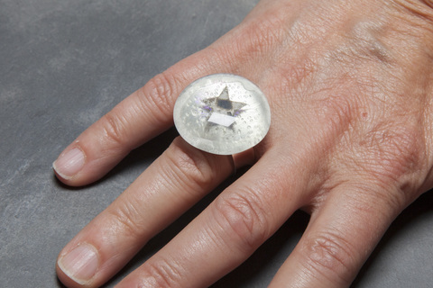 Glass Wear Star ring