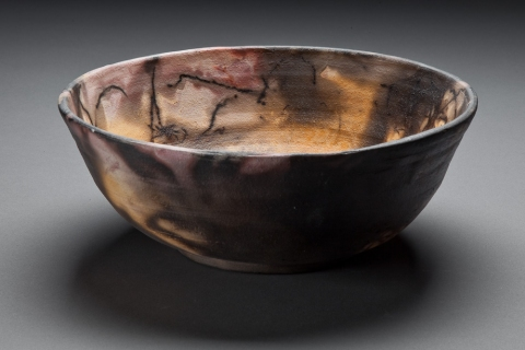 Cosmic Contemplations Black Nebula Bowl