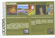 Studio Tour Invitation, WASPS studios, Glasgow