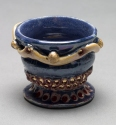 Lisa G Westheimer Ceramics & Glass    LisaGWCeramicsnGlass.Etsy.com Chawan, cups and bowls Ceramic, glass, 14K gold, lustre