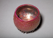 Lisa G Westheimer Ceramics & Glass    LisaGWCeramicsnGlass.Etsy.com Chawan, cups and bowls Porcelain, dichroic glass, luster