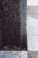 Livio Saganić Public Works Granite and water