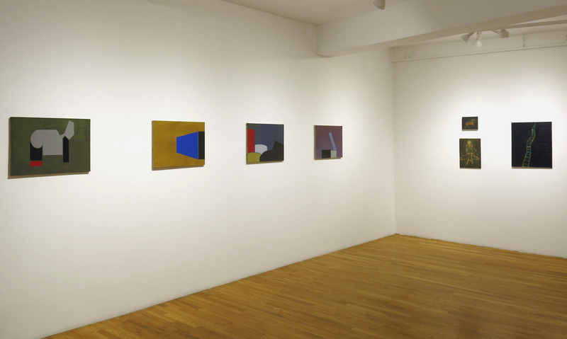 Liv Mette Larsen Exhibitions / Installations Egg tempera on linen