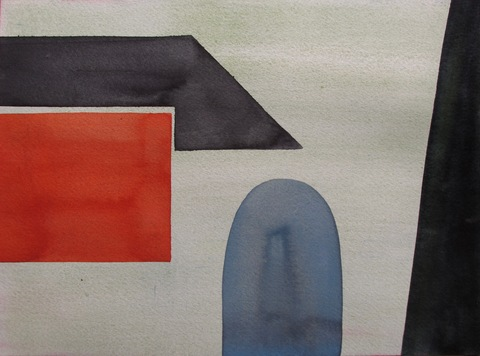 Liv Mette Larsen Works on Paper 2012 - 2020 Watercolor on Arches