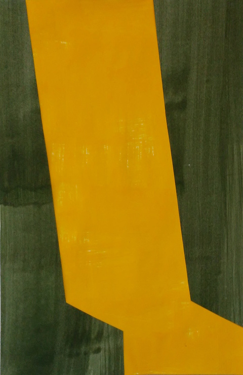 Liv Mette Larsen Works on Paper 2012 - 2020 Collage, egg tempera on paper