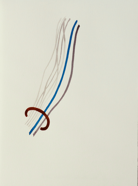 Liv Mette Larsen Works on Paper 2005 - 2011 Watercolor on Arches