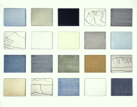 Liv Mette Larsen Paintings 2001 - 2005 Egg tempera on linen