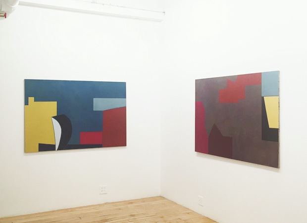 Liv Mette Larsen Exhibitions / Installations Paintings, egg tempera on linen. Watercolors on Arches