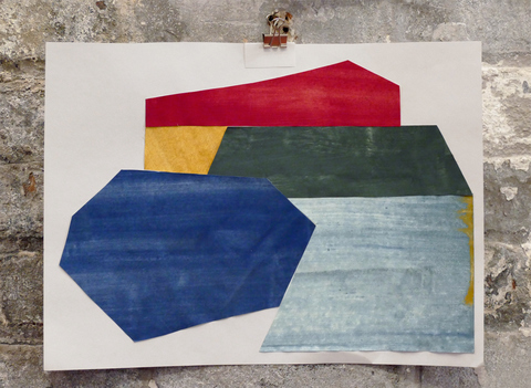 Liv Mette Larsen Works on Paper 2012 - 2020 Egg tempera on paper