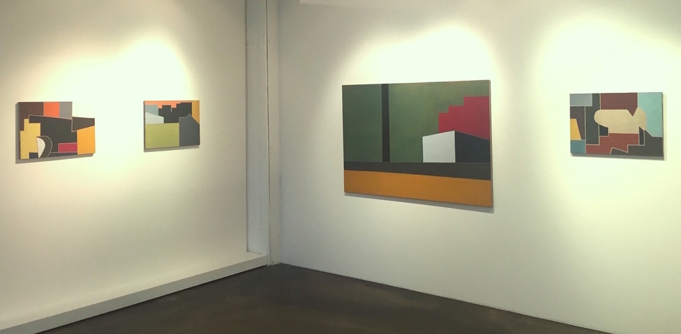Liv Mette Larsen Exhibitions / Installations All paintings egg tempera on linen