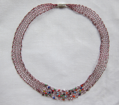 Necklaces Maya Necklace, red