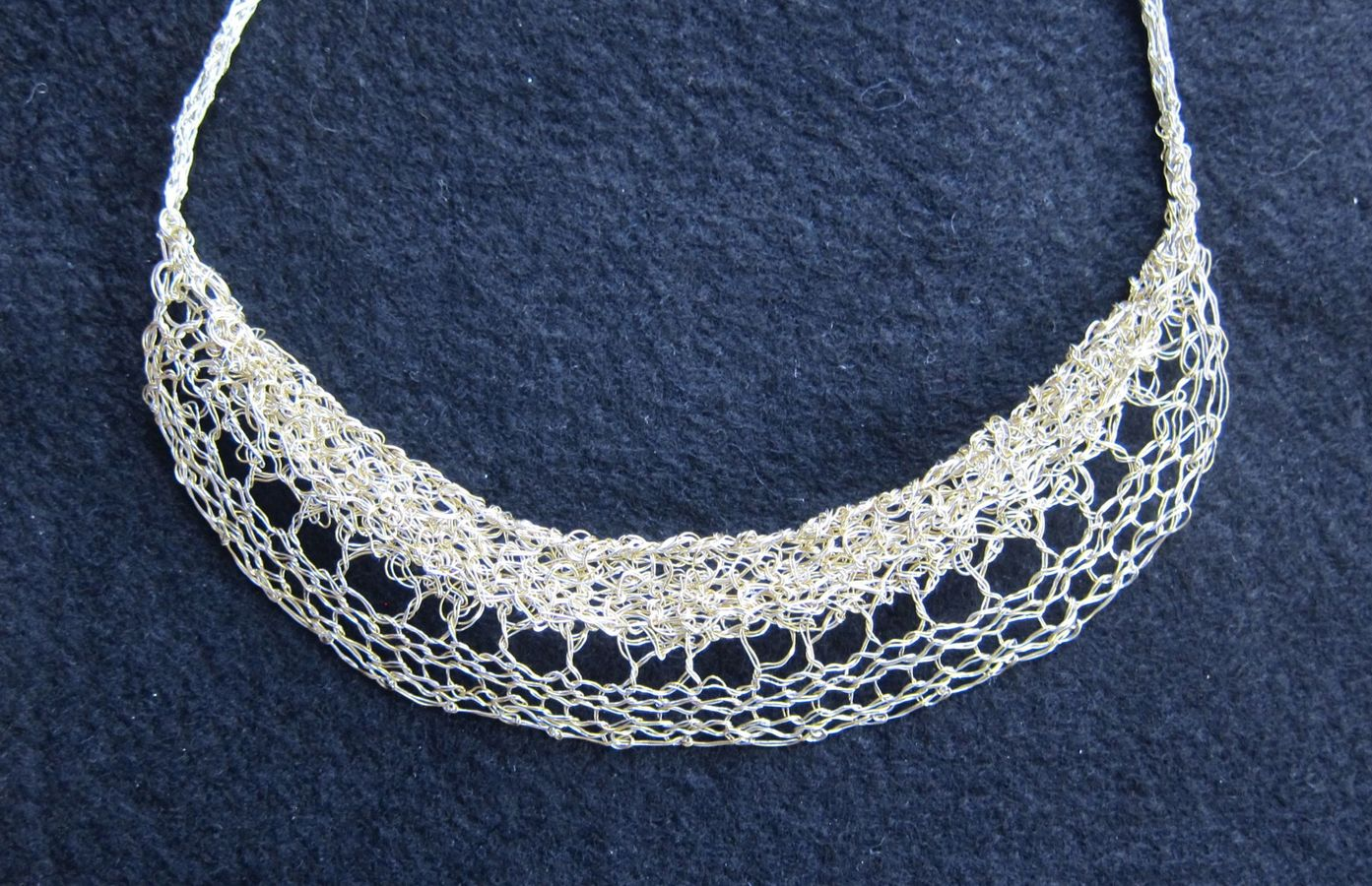 Necklaces Lace Collar Necklace, double