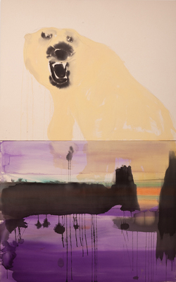 LIZ MARKUS BEARS 96 x 60 inches