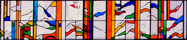 Liz Quantock Architectural Work Leaded Stained Glass