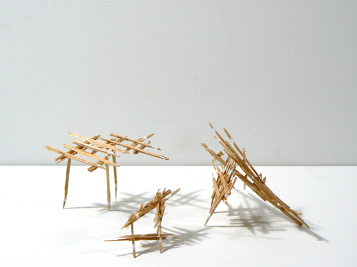 Splinter Sculptures 2014-2015 Untitled (Splinter #11)