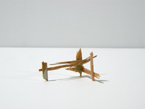 Splinter Sculptures 2014-2015 Untitled (Splinter #6)