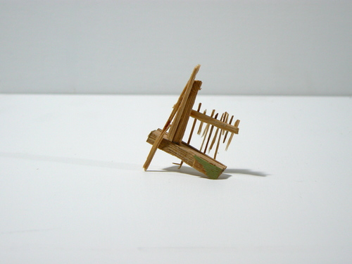 Splinter Sculptures 2014-2015 Untitled (Splinter #1)