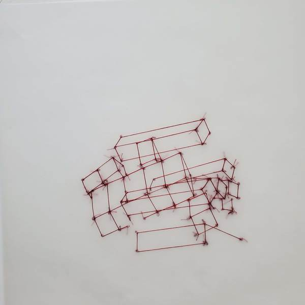 Liz Sweibel All Fall Down | Drawings | 2019-2020 Thread, vellum