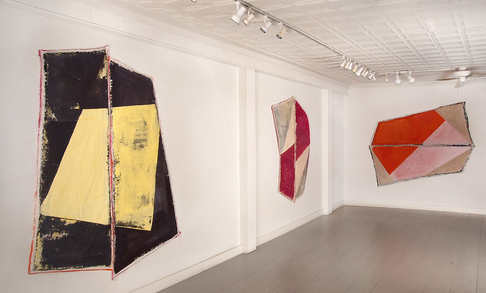 Textile Pieces Installation View, Galerie Gris, Hudson, NY