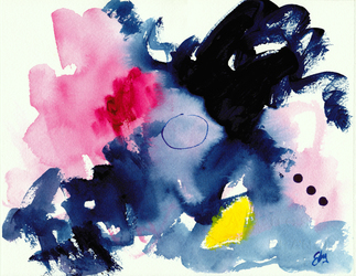 Lois Eby Paintings on Paper acrylic & ink