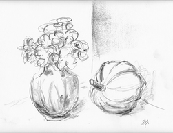 Lois Eby Flowers & Still Life pencil