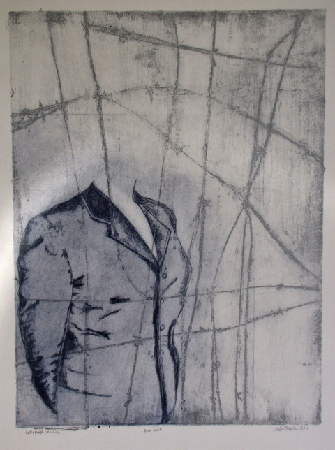 Lola Fraknoi Responses to the Holocaust -- Memories and Transformations Monoprint
