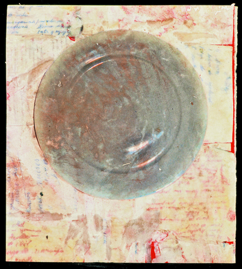 Lola Fraknoi Plates -- Love and Hate of Food Encaustic Drawing