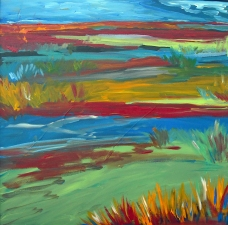 Lorie McCown Paint acrylic on canvas