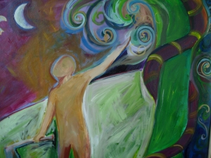 Lorie McCown Paint oil on canvas
