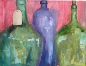 Lori Starkey Modern Oil on Canvas