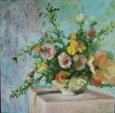 Lori Starkey Flowers oil