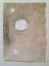 Louis Brawley Cologne studies  2011 water-colour on handmade paper