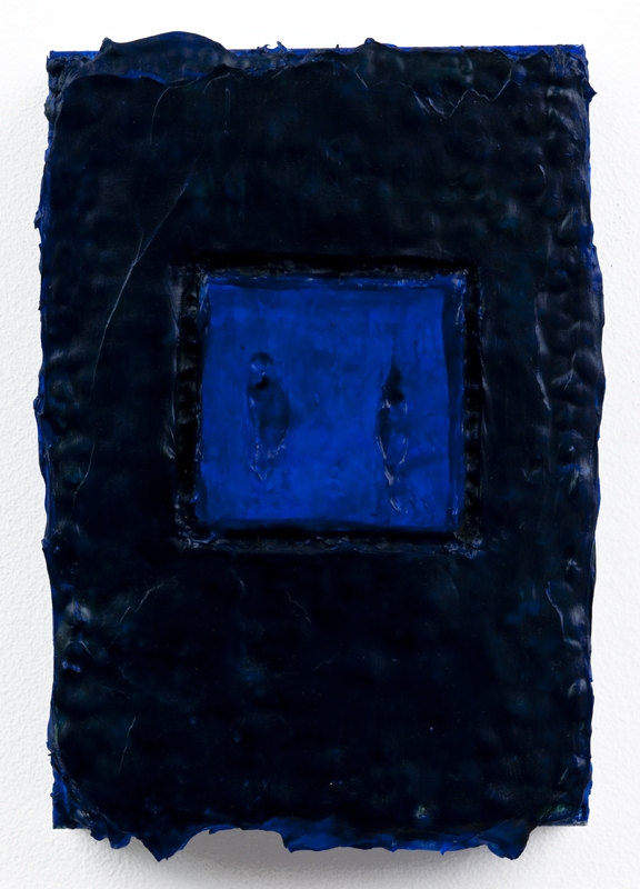 Louise P. Sloane Color/Square/Texture Latex, Acrylic Polymers and Pigment on Aluminum Panel
