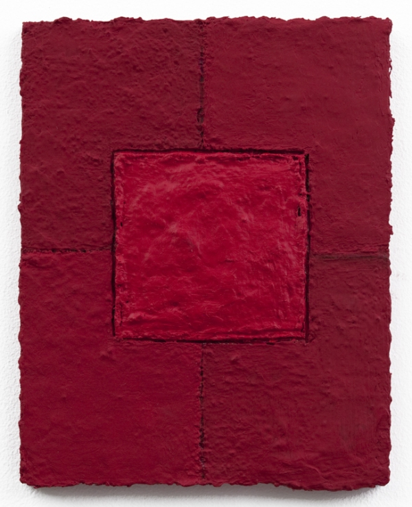 Louise P. Sloane Color/Square/Texture Acrylic Polymers and Pigment on Panel
