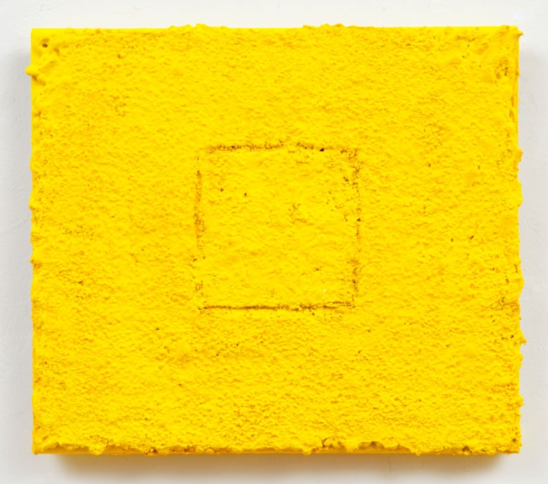 Louise P. Sloane Color/Square/Texture Acrylic Polymers and Pigment on Aluminum Panel