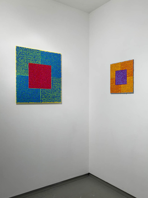 "Louise P. Sloane ""Louise P. Sloane - Recent Paintings"" 2015.  Andre Zarre Gallery, New York City, New York."