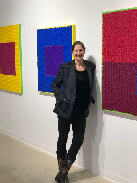 "Louise P. Sloane ""For The Love Of Color"" 2019 Spanierman Modern Miami"