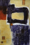 Louise Weinberg Recent Works on Paper oil on paper  - SOLD
