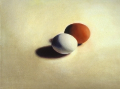 Louise Weinberg Egg Paintings Oil on canvas