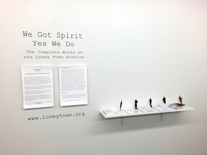 Exhibition Series 5: We Got Spirit Yes We Do, Spring 2015  Exhibition Series 5: We Got Spirit Yes We Do, Spring 2015