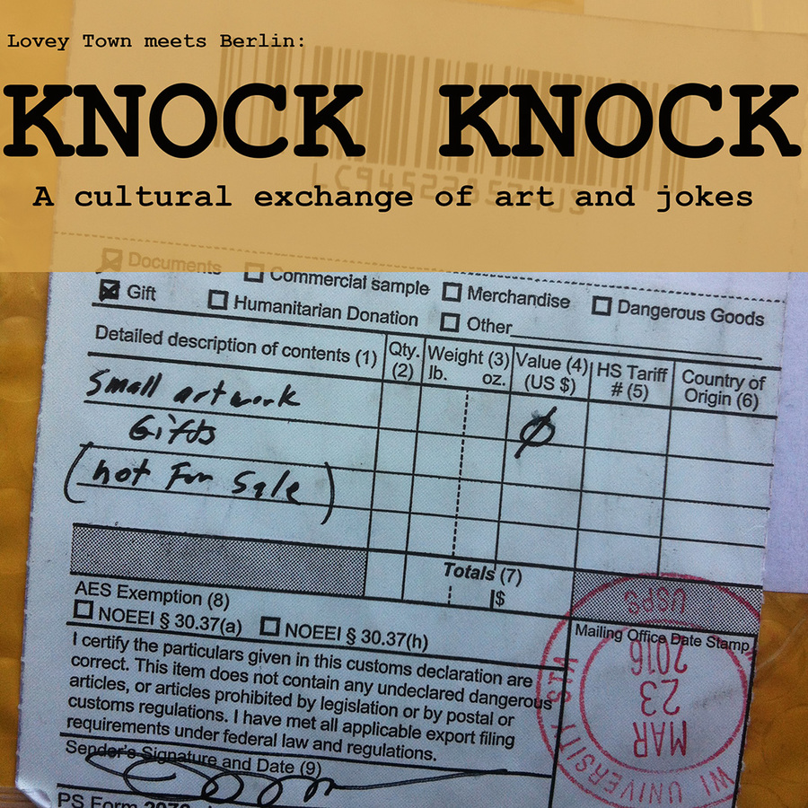 Exhibition Series 8: Knock Knock: Part 1, Spring 2016  Exhibition Series 8: Knock Knock: Part 1, Spring 2016