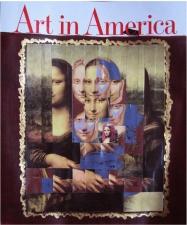 Jane Lubin Inspiration Acrylic/Collage on Magazine Cover