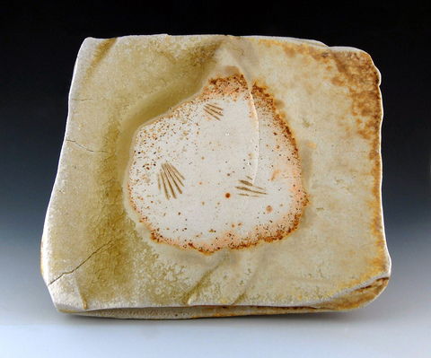 LUCIEN KOONCE ceramics Plates  Wood fired Stoneware