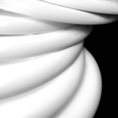 Sculpture Black & White Photograph