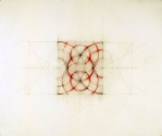 Luisa Sartori      Circles, triangles and then... graphite, oil pastels on tracing paper