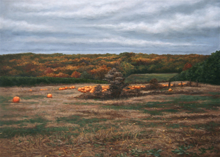 L  U  I  S   C  O  L  A  N Landscape oil on linen